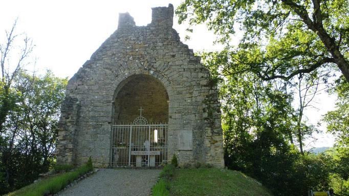 Chapelle à la sortie de Cajarc