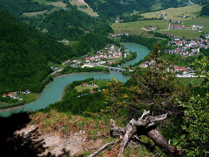 Großraming und die Ennstaler Alpen vom Hiasllberg