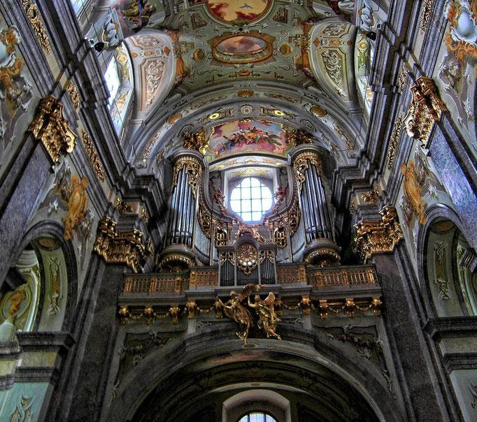 Die spätbarocke Orgel der Basilika Sonntagberg