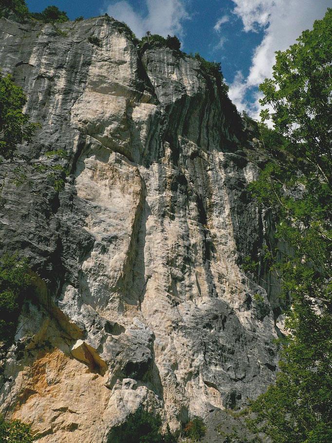 Gößlerwand - Überhänge