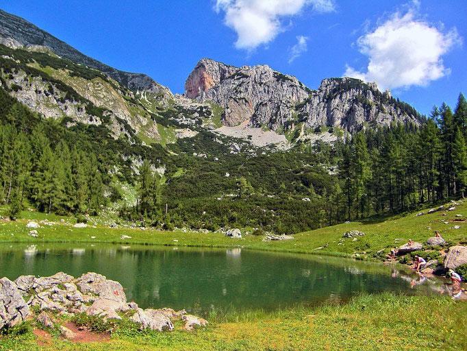 Brunnsteinsee gegen Rotwand
