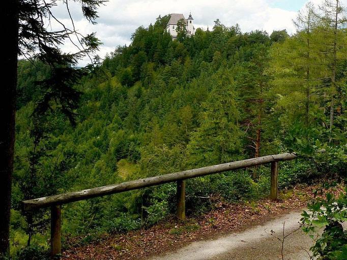 Heiligensteinerweg zur Sebaldiirche