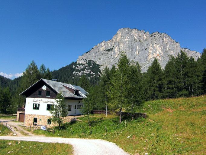 Naturfreundehaus Wurzeralm ud Stubwieswipfel