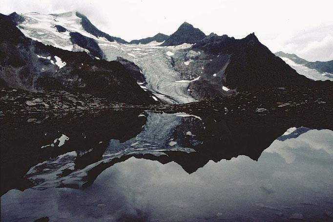 Kleiner See  mit Wildem Freiger vom Anstgieg zum Niederl