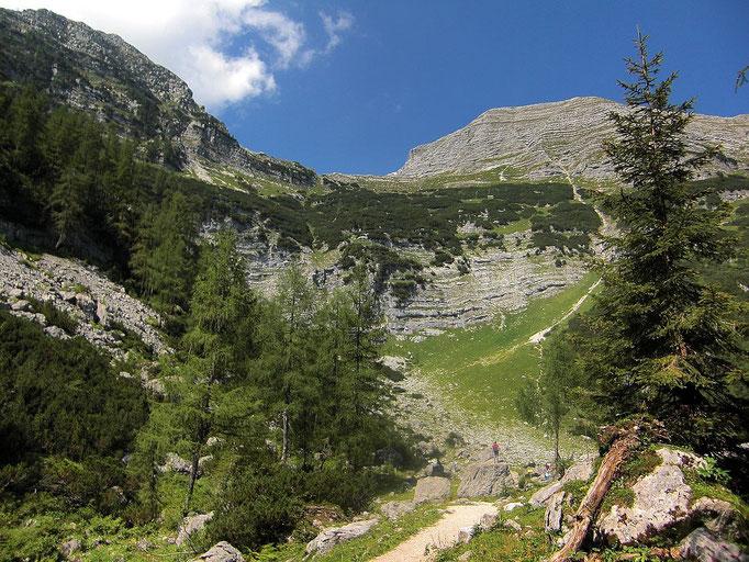 Abstecher von ca. 10 Minuten zum in einer kleinen Wiesenmulde gelegenen Brunnsteinsee