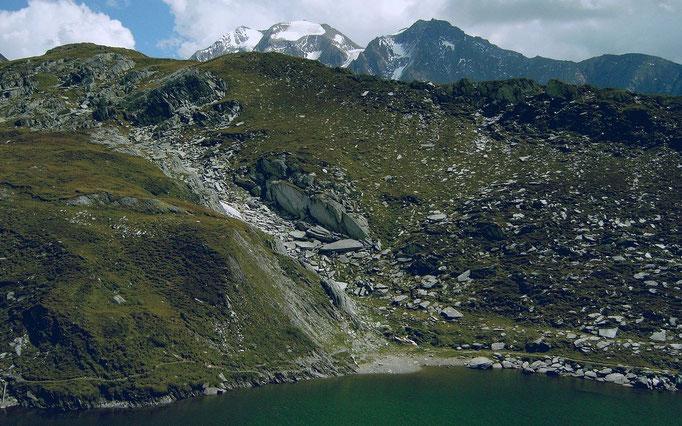 Bergsee in der Nähe des Pfitscher Joch Hauses
