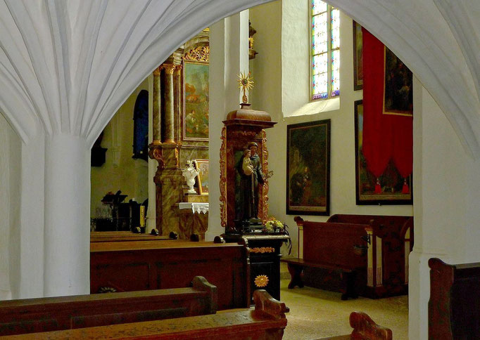 Das Innere der Sebaldikirche
