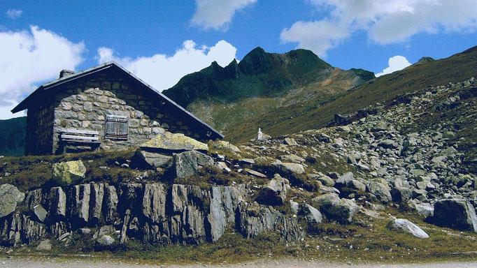 Grenzerhütte am Pfitscher Joch