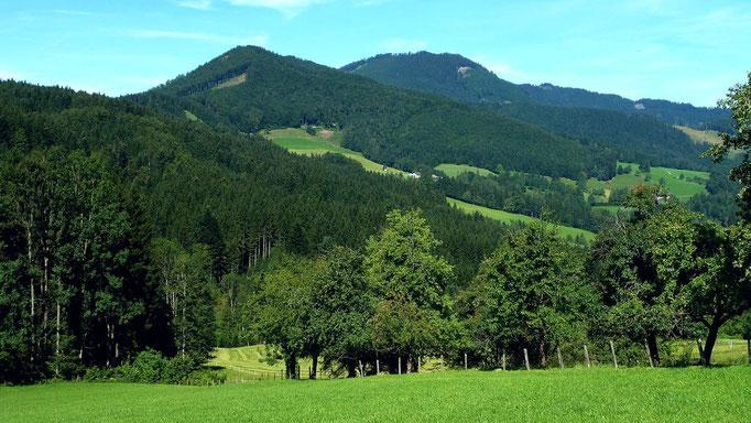 Hieselberg vom Güterweg zur Gschwendtalm
