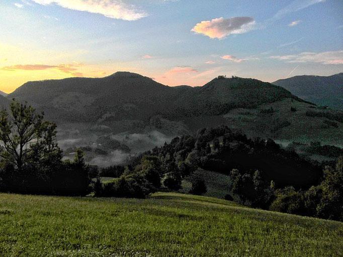 Sonnenaufgang auf Rabenreith
