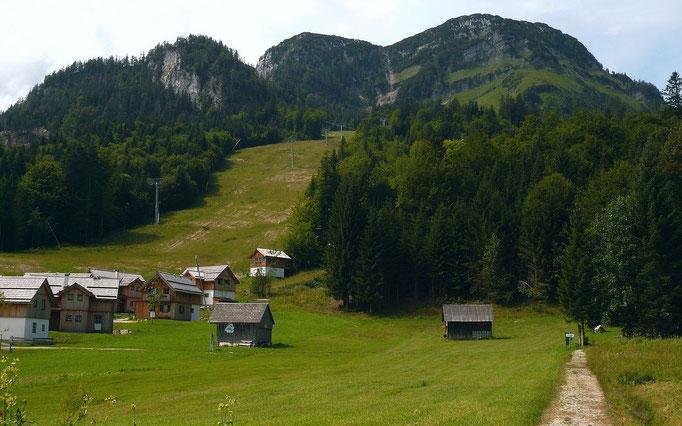 Sandlingliftgebiet - Ausgangspunkt der Wanderung zur Ischler Rettenbachalm