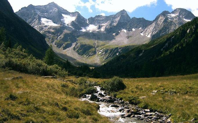 Der Bodenbach im Almgebiet