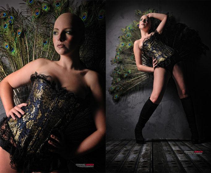 Studio Shooting mit Fotograf Gerhard Jochen, Visa: Nadja Hulchofsky
