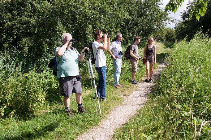 Beobachtende Teilnehmer  (Foto: B. Budig)