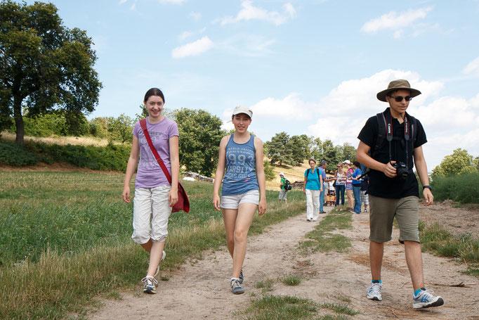 Exkursionsteilnehmer (Foto: B. Budig)