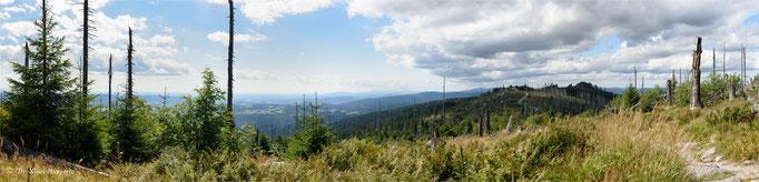 """Drei Sessel"" Panorama / Bayerischer Wald"