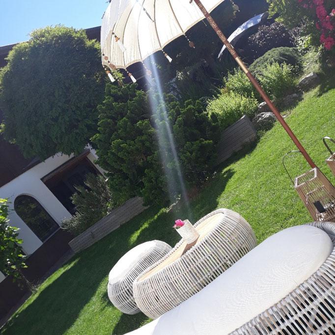 Gartenmöbel, Rattanmöbel, Rattan, Outdoormöbel in unserem Garten