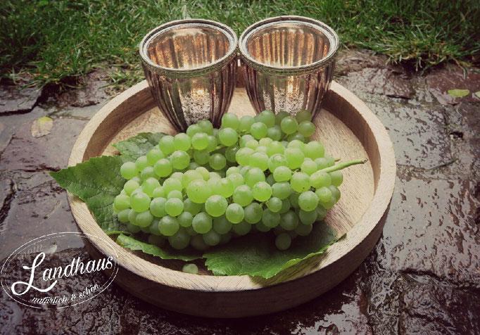 Trauben Dekoration  Früchte