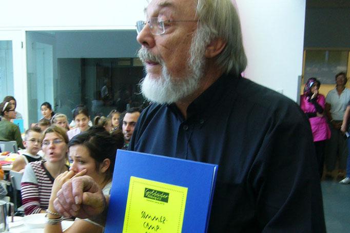 Dr. Wolfgang Klier, Initiator und Projektleiter des Sommercamps