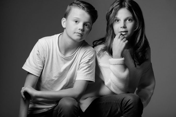 Brother & Sister Fotoshooting by Claudia Mamone