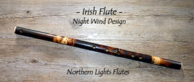Irish Flute n D - Night WInd Design