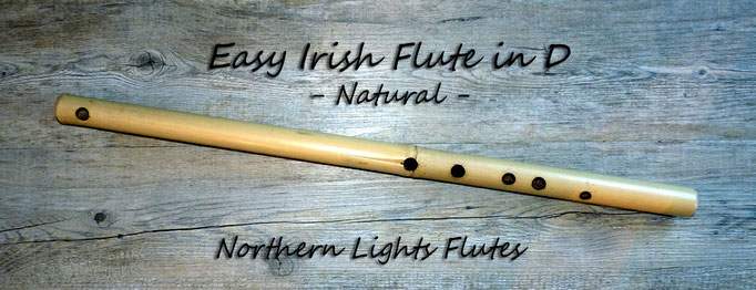 Easy Irish Flute in D - Natural