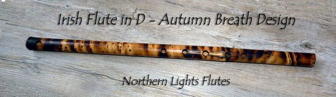 Irish Flute in D - Autumn Breath Design