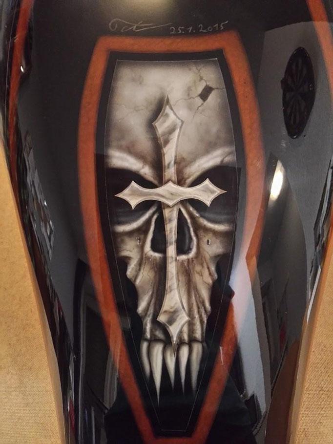 Motorradtank - Airbrush