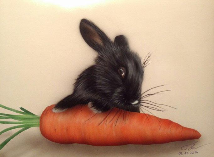 Bunnys dream - Airbrush