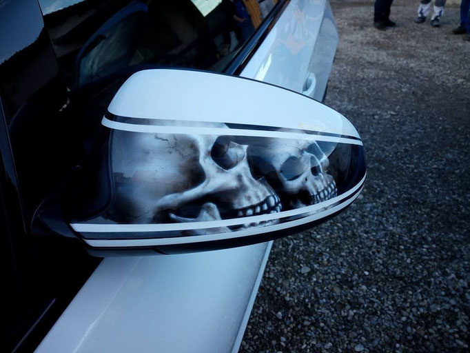 Spiegelkappe Opel Astra J GTC - Airbrush