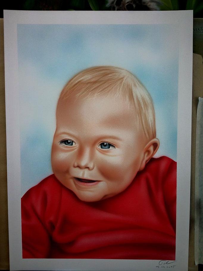 Portrait Baby - Airbrush