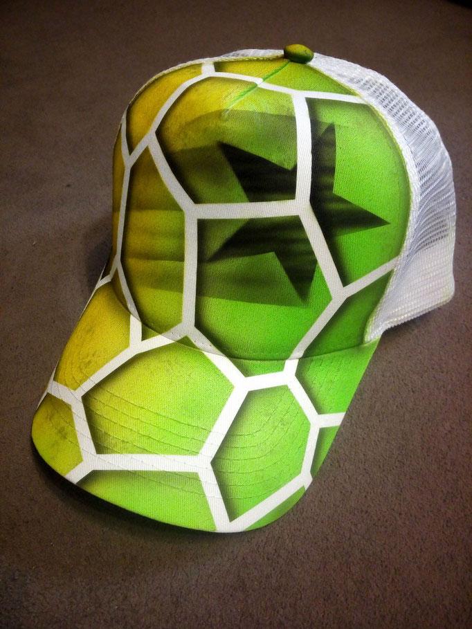 Textildesign Cap - Airbrush