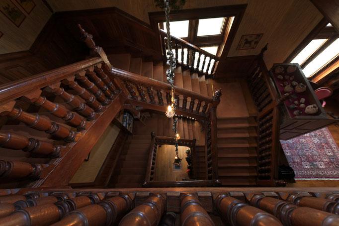 escalier central