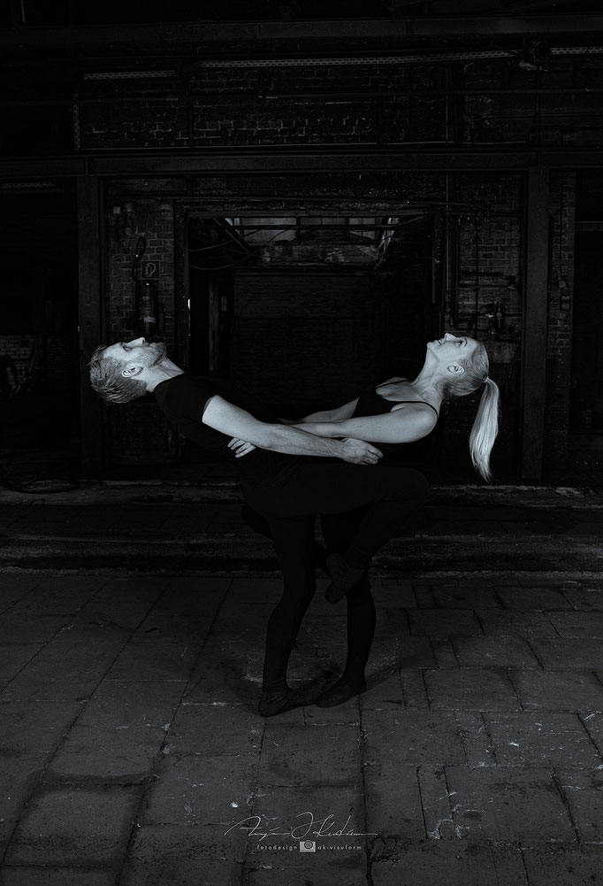Lost Place - alte Gießerei - People Shooting - Ballett