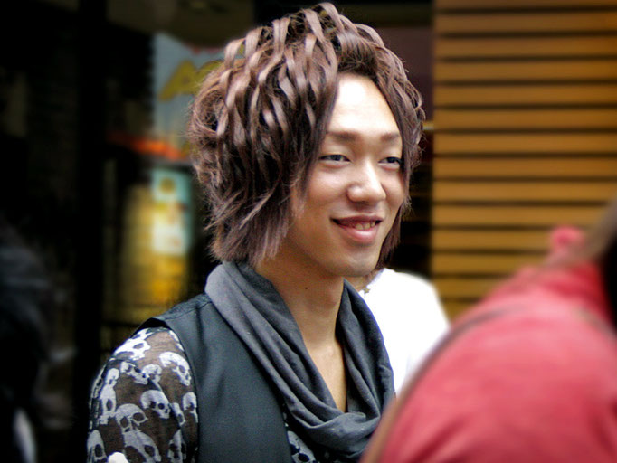 I wonder how long it takes to prepare this hairstyle. Harajuku, Tokyo, Japan 2013 © Sabrina Iovino | JustOneWayTicket.com