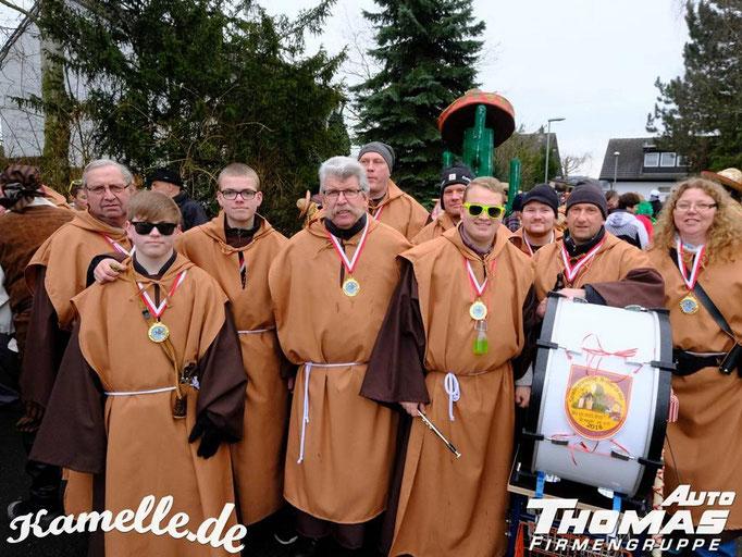 Karnevalszüge 2018 Spielmannszug Echo Niederdrees