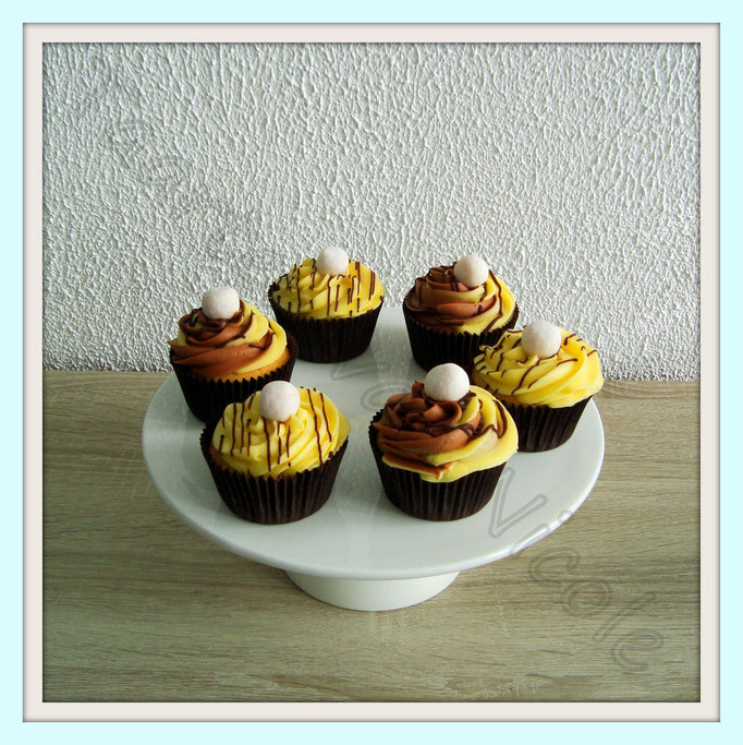 Feest - Banoffee cupcakes