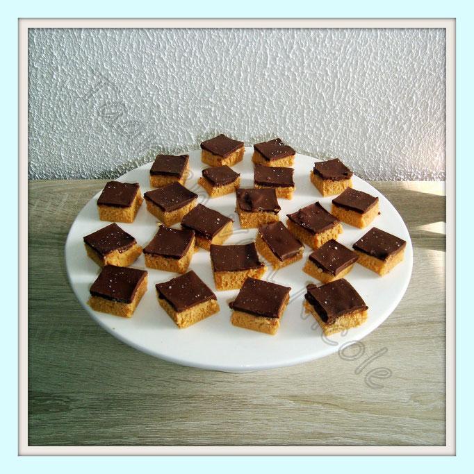 Gezouten karamelfudge