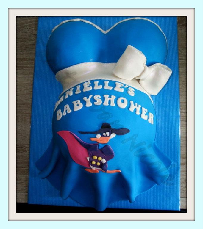 Babyshower - Aardbeiencreme & Nutella