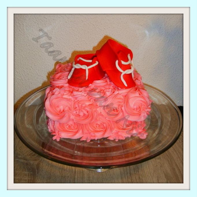 Babyshower - Aardbeiencreme & -jam