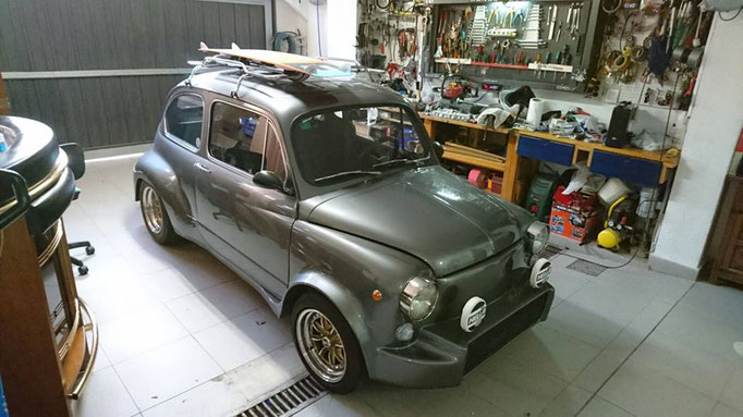 seat abarth 600 madrid