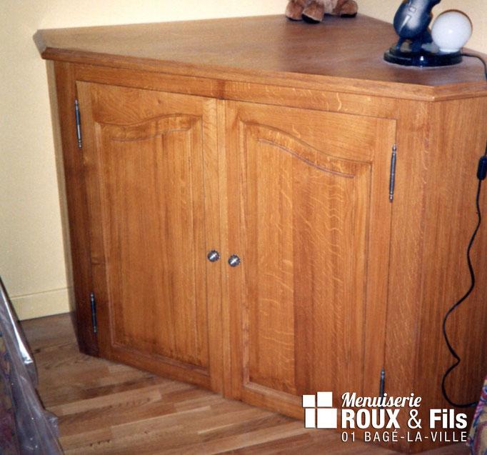 Menuiserie Roux et Fils, agencement, cuisine, salle de bain, placard, meubles sur-mesure