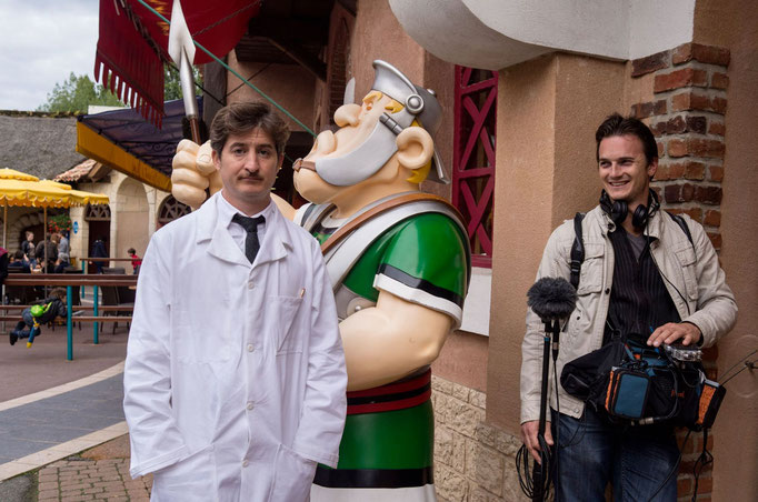 Doc La potion Asterix - Arte