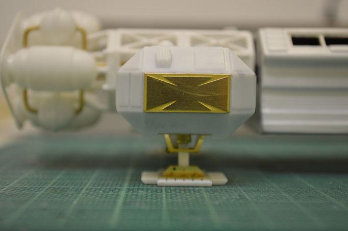 Landing-Pod im Detail