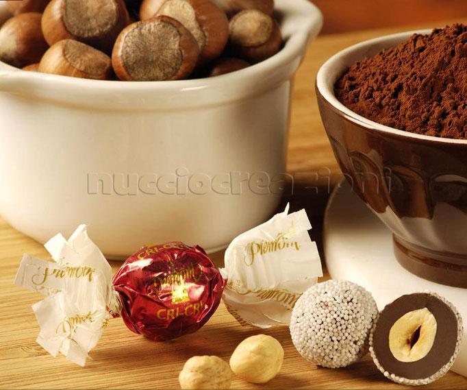 Drageés: Chicchi caffè al cioccolato fondente