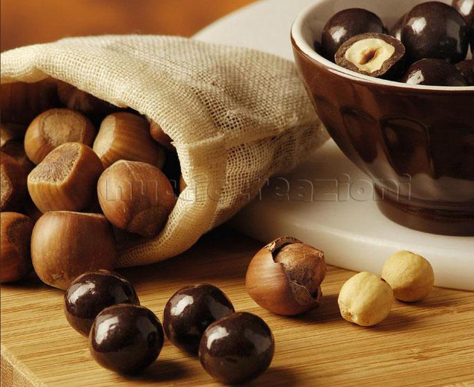 Drageès al cioccolato fondente
