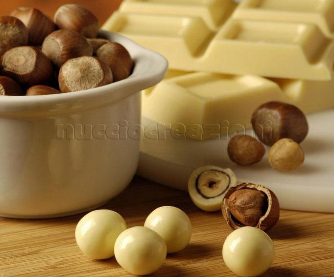 Drageès al cioccolato bianco