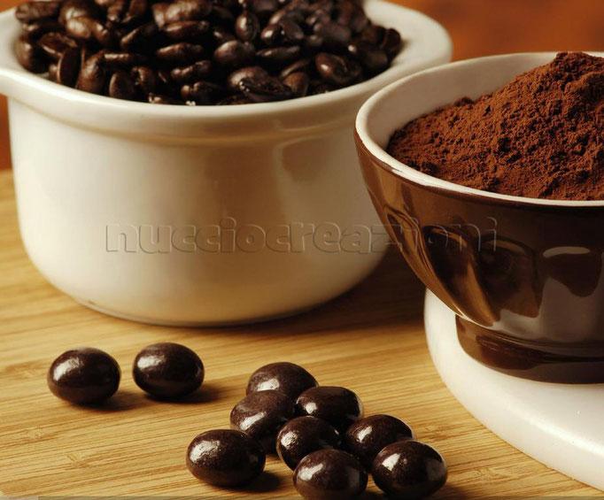 Drageés: Chicchi caffè fondenti