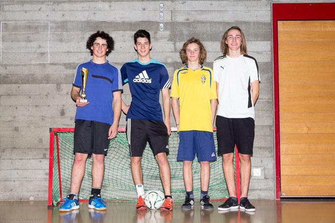 3. Rang Nichtfussballer: Team Las Muzlas (Team 68 Gailo)