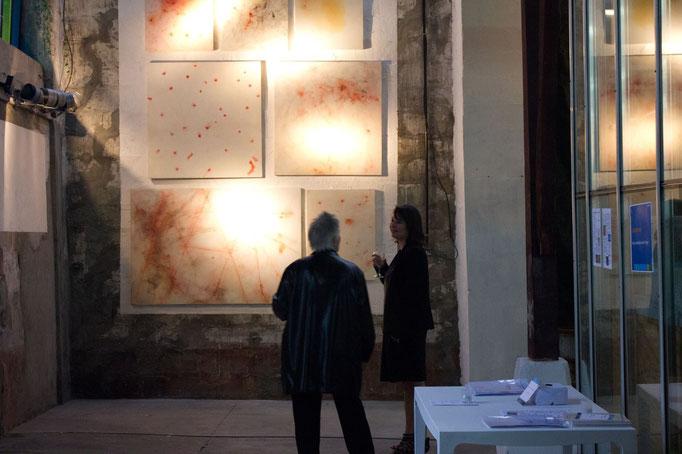Peinture, conversation avec l'image - vernissage ©Luc Detot